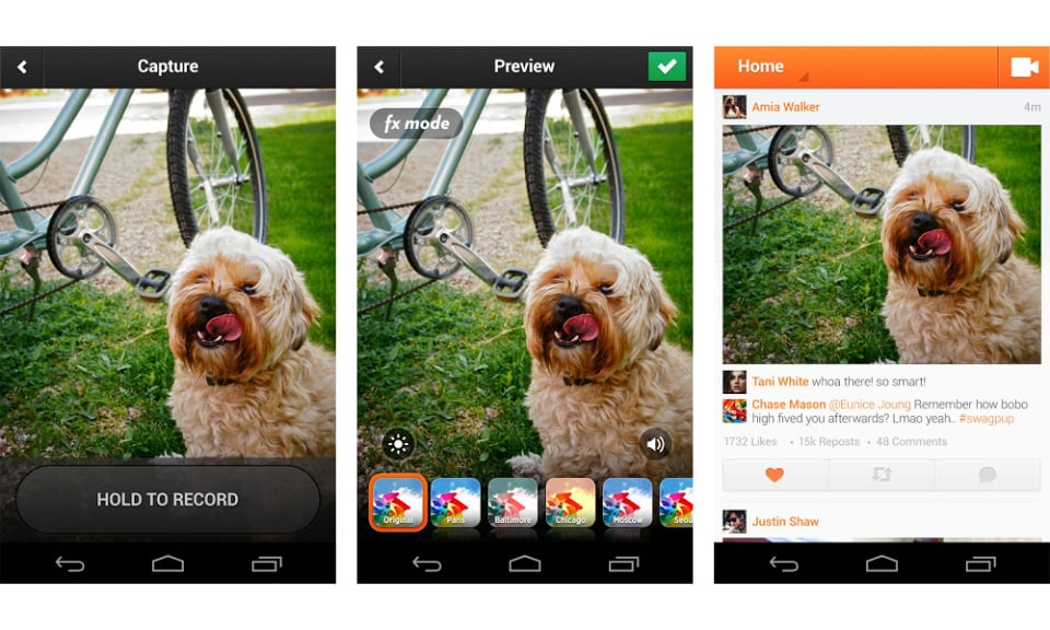 Featured image for Cinemagram Launches Vine Competitor On Android