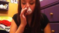 Condom Snorting on YouTube