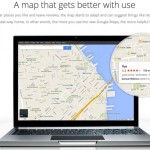 Google Plus on Google Maps