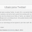 Ubalo Acquired By Twitter