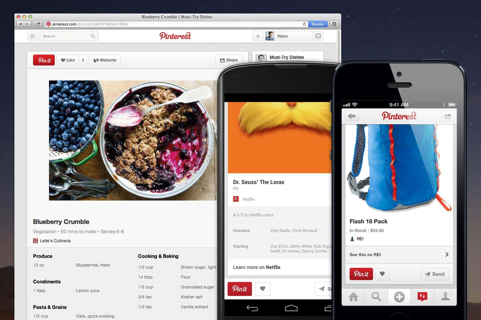 Featured image for Pinterest Debuts 'More Useful Pins,' And You're Going To Love Them