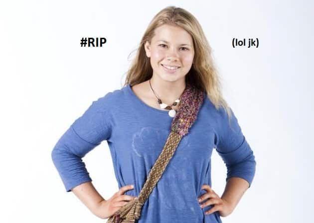 Featured image for Steve Irwin's Daughter Died? Not Really, We'll Explain [Hoaxed]