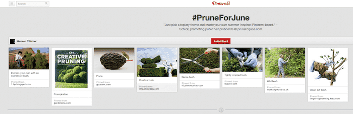 Prune For June - Pinterest