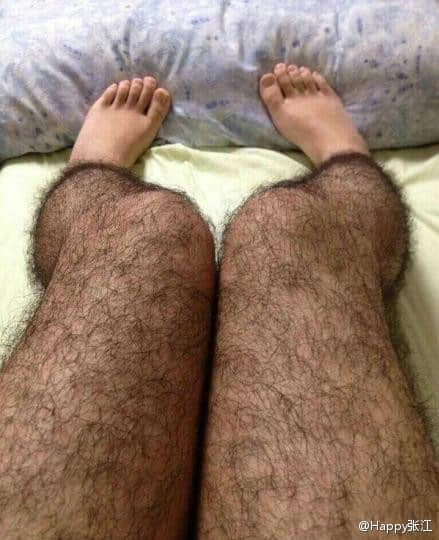 Featured image for Hairy Stockings: China's Social Media Craze Du Jour [WTFoto]