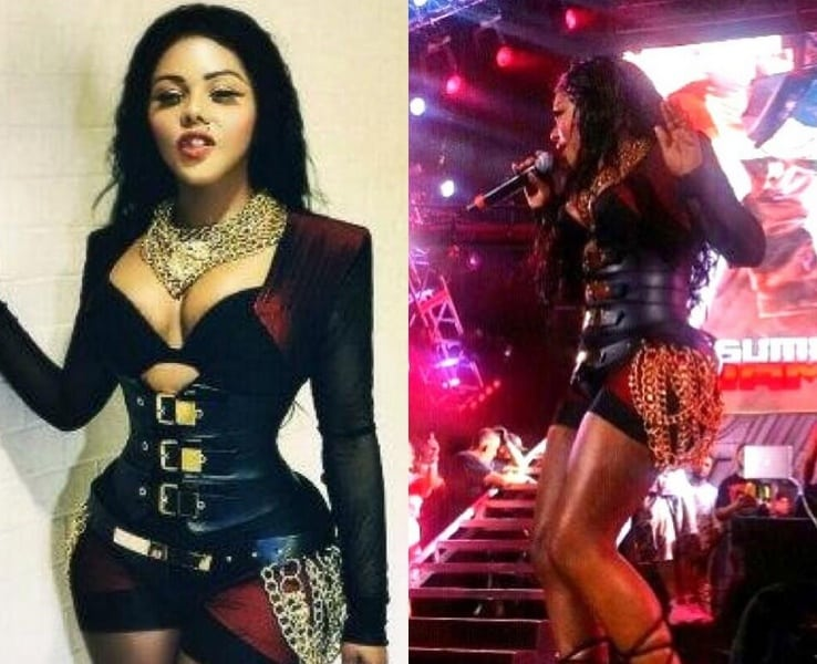 Featured image for Lil' Kim Unrecognizable At Hot 97 Event [Twitter Reacts]