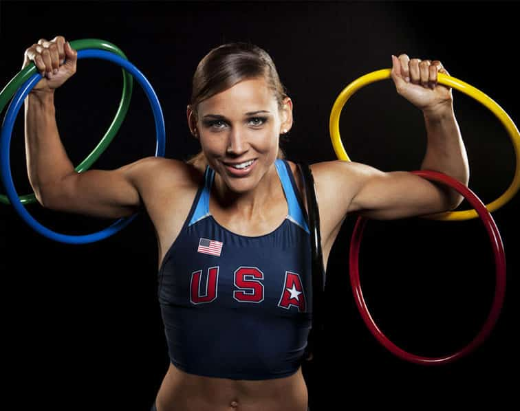 Featured image for Lolo Jones Puts On 20 Pounds During Bobsled Training