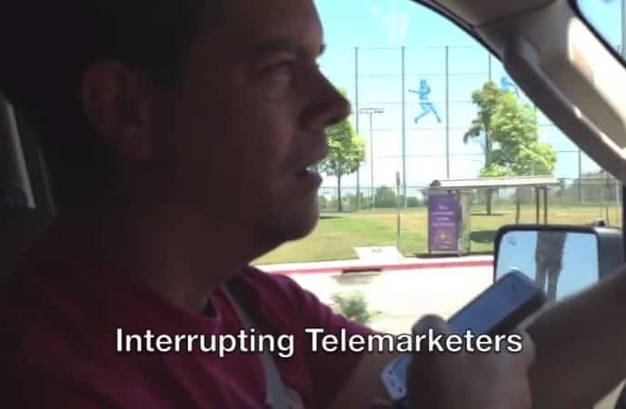 telemarketer prank