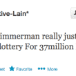 George Zimmerman lottery
