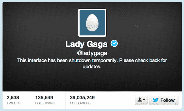 Lady Gaga Temporarily Shuts Down Twitter Feed, Gives No Clues