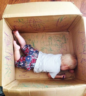 Toddler Coloring Box Activity