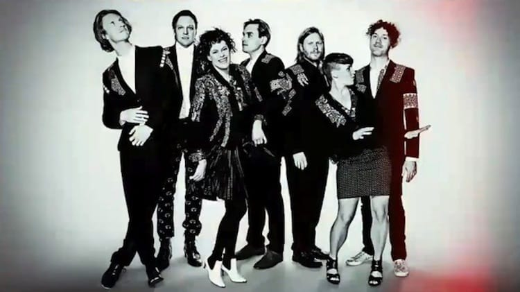 Featured image for Arcade Fire Performs 'Afterlife' On SNL, Early Twitter Reactions Are Positive