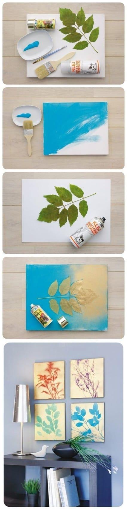 Leaf Canvas Art