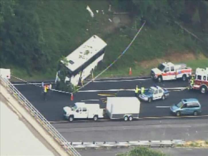 I-40 Bus Crash In Tennessee Kills At Least 8 People