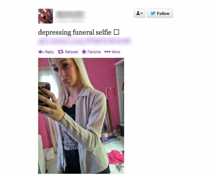 Featured image for Selfies At Funerals Tumblr Takes A Look At Social Grieving