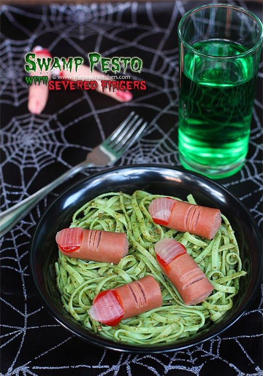 Swamp Pesto with Severed Fingers