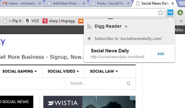 Featured image for Digg Reader Gets Chrome Extension, Android App Update
