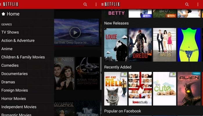 Netflix For Android Completely Redesigned, Much Faster