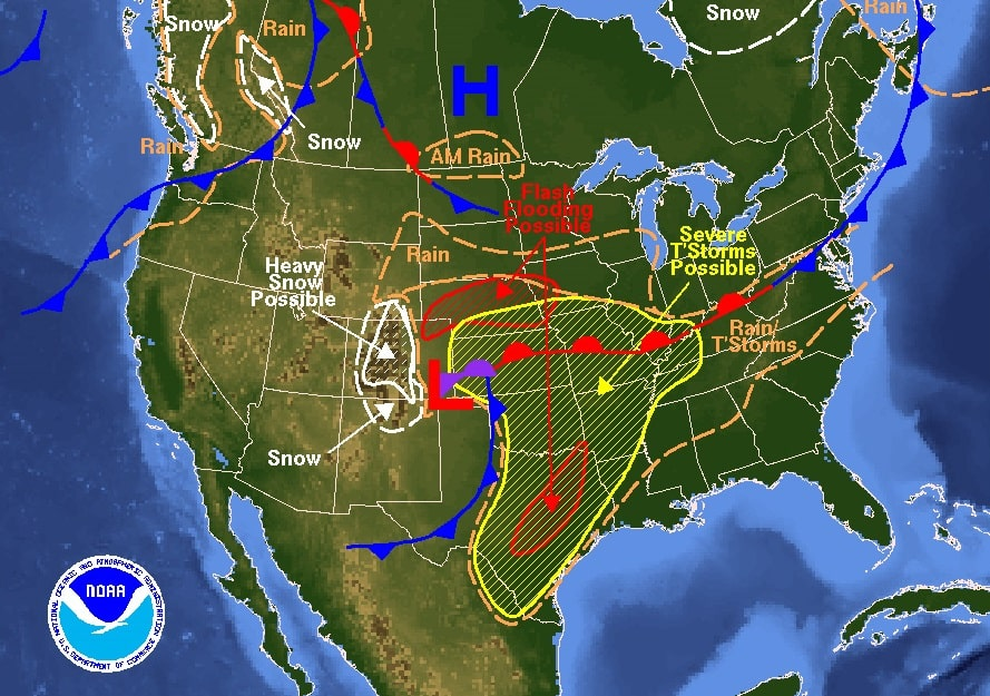 Day Us Weather Map Globalinterco - Us weather maps forecast weather