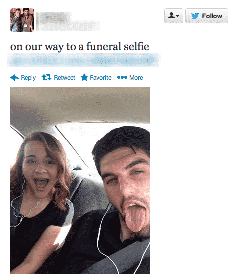 selfies at funerals 2