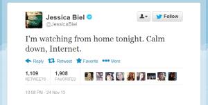 Jessica Biel Internet Calm