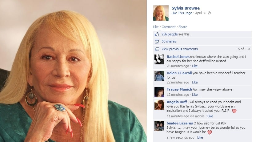 Featured image for Sylvia Browne Dies, Internet Bets She Didn't See It Coming [Twitter Reacts]