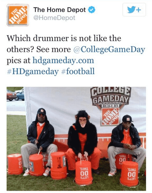 Featured image for Home Depot Racist Tweet Causes Controversy, Company Fires Social Media Rep