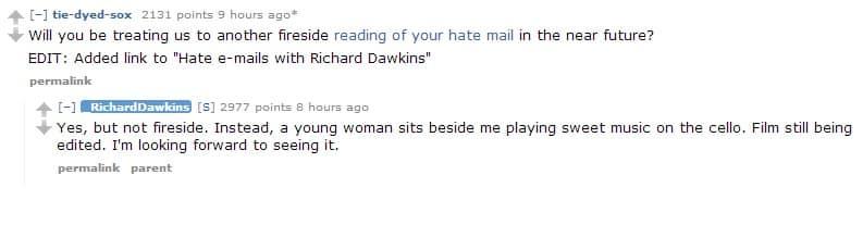 richard dawkins ama