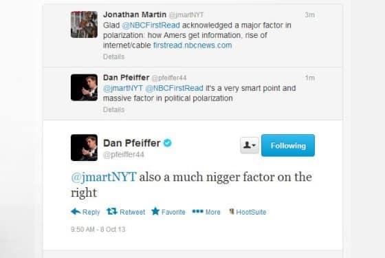 Dan Pfeiffer october