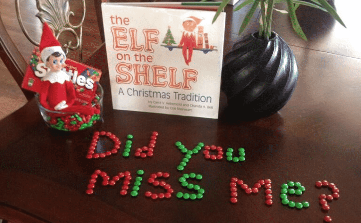 Elf On The Shelf Takes Over Twitter Photos