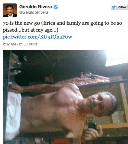 Geraldo selfie July