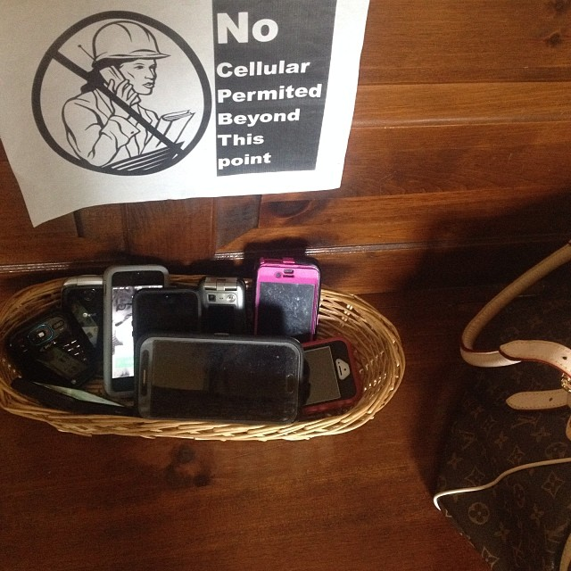 Featured image for Leave Your Cell Phone At The Door, Please [Photo]