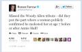 Ronan Farrow Woody Allen Tweets