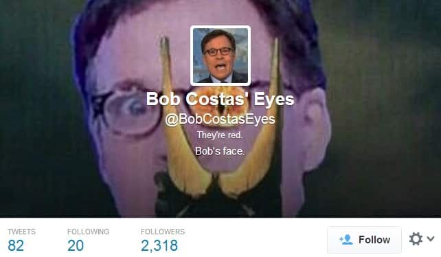 Featured image for Bob Costas' Pink Eye: The Breaking Of A Man's Spirit [Twitter Reacts]