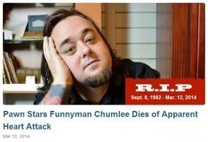 chumlee death hoax