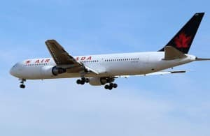 Air Canada Baggage Tossing