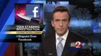 stabbed over facebook