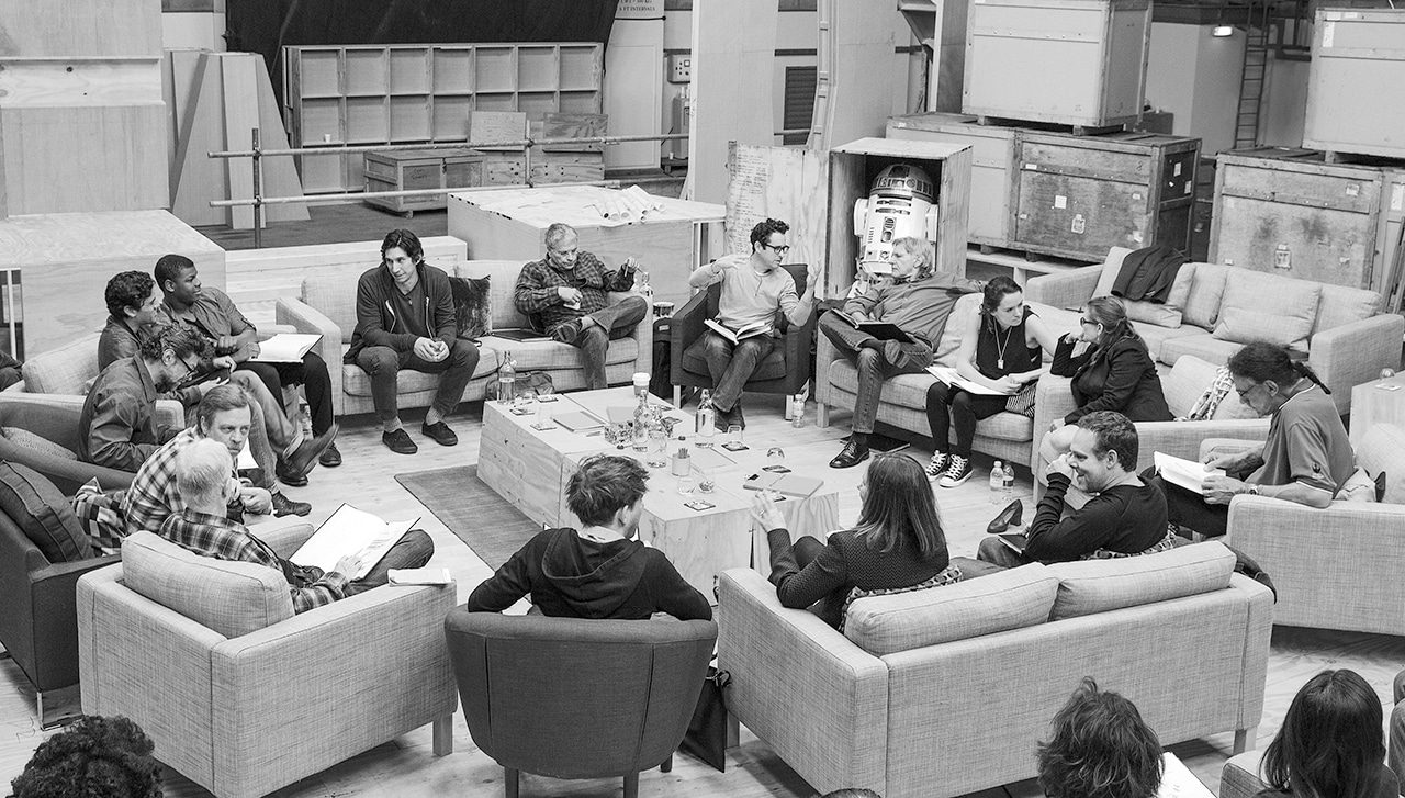 Featured image for J.J. Abrams Drops 'Star Wars' Hint, Says No More Leaked Photos