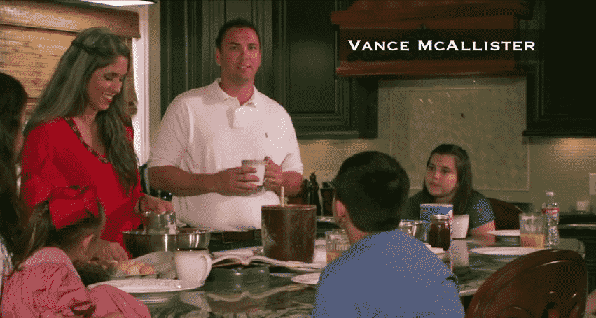 Featured image for Congressman Vance McAllister Caught Kissing Staffer (Not His Wife) On Video
