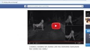Aswang video