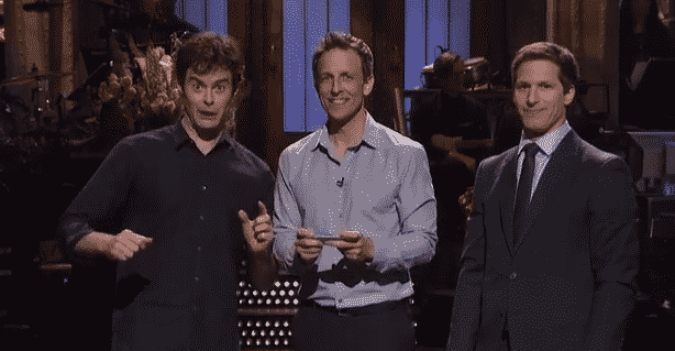 Featured image for Andy Samberg Does 23 Impressions In 'Saturday Night Live' Monologue, Tries To Beat Bill Hader