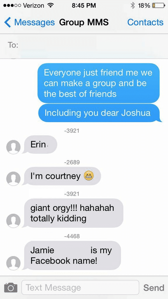 Guy Group Texted All 32 Tinder Matches Accidentally, Responses Are