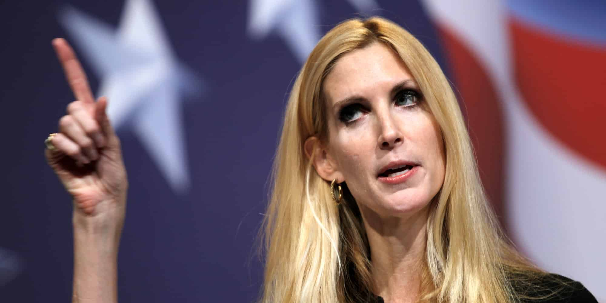 "Featured image for Ann Coulter on World Cup: ""No American whose great-grandfather was born here is watching soccer."""