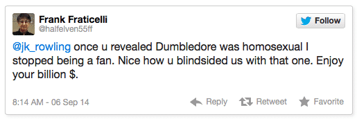 Rowling Twitter Hater