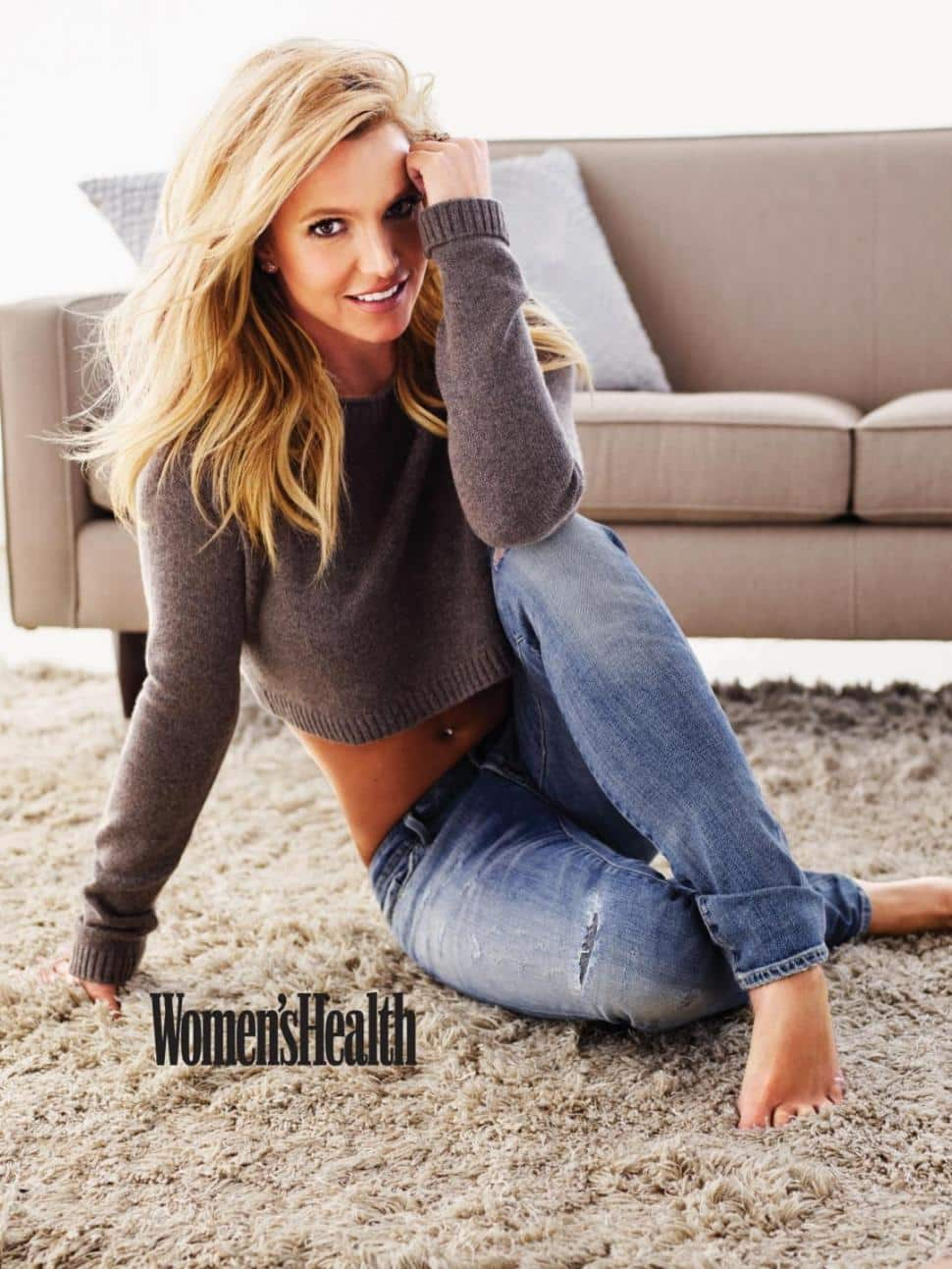 Britney spears heidi klum or photoshop women 39 s health for Best women pictures