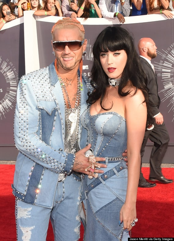 Katy Perry is dating rapper Riff Raff they both bragged on Instagram