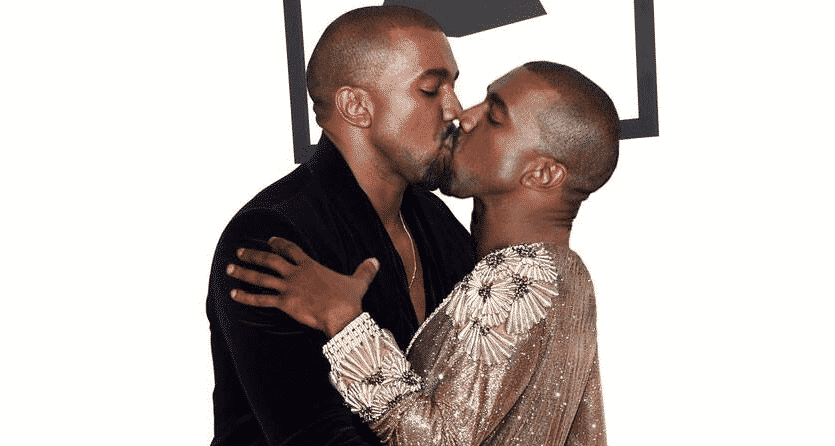Screen Shot 2015 02 13 at 3.02.22 PM kanye west kissing himself, rapper wants photo removed from internet