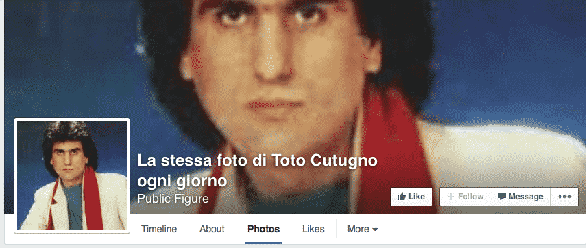 Featured image for Strange Facebook Page Post Same Picture Of Toto Cutugno Every Day, Leads To Academic Social Media Study