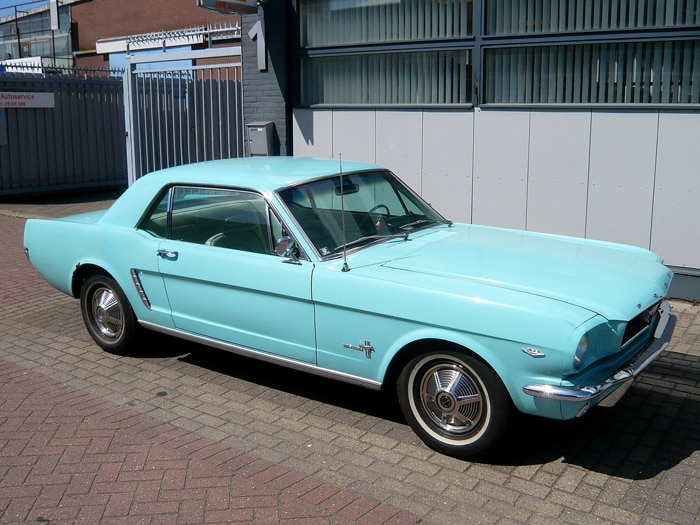The 64 Mustang Is Back