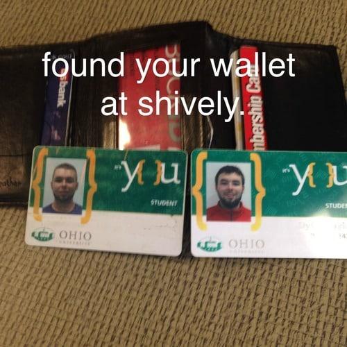 lost wallet unseen
