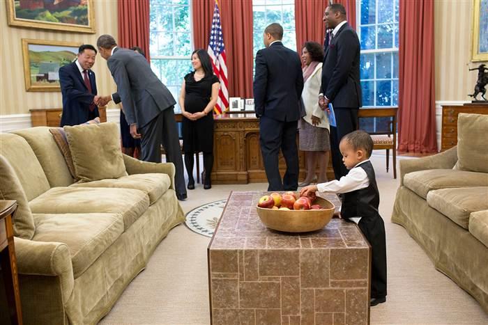 White house tantrum